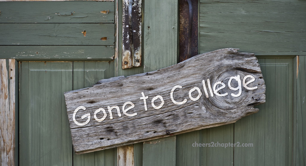 left for college