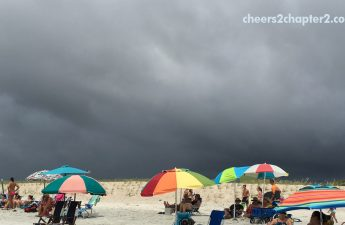 stop over thinking - a rainy week at the beach