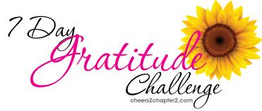 Cheers 2 Chapter 2 Gratitude Challenge