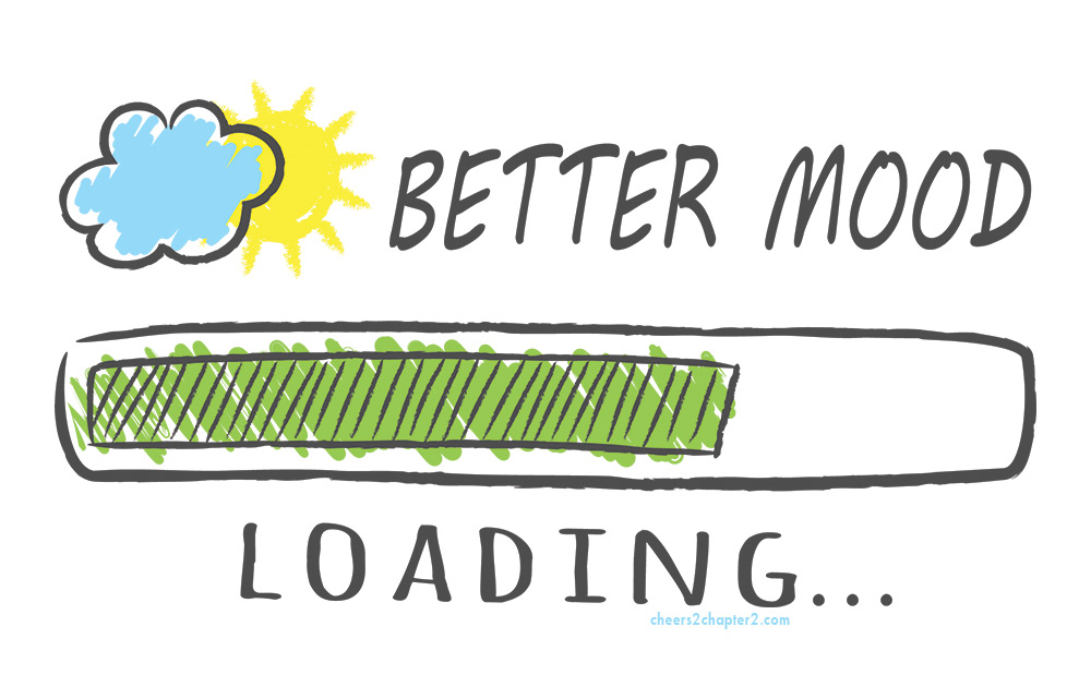 Illustration of Better Mood Load for How to Lift Your Spirits When You're Feeling Down page